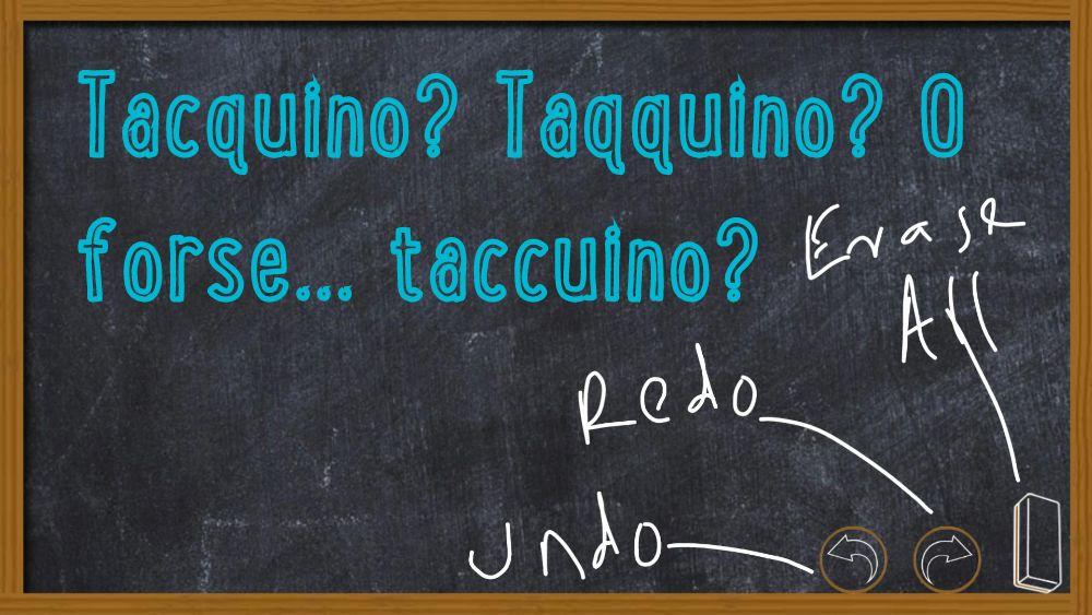"""L'imperdonabile errore di scrivere """"tacquino"""" o """"taqquino"""" invece di """"taccuino"""""""