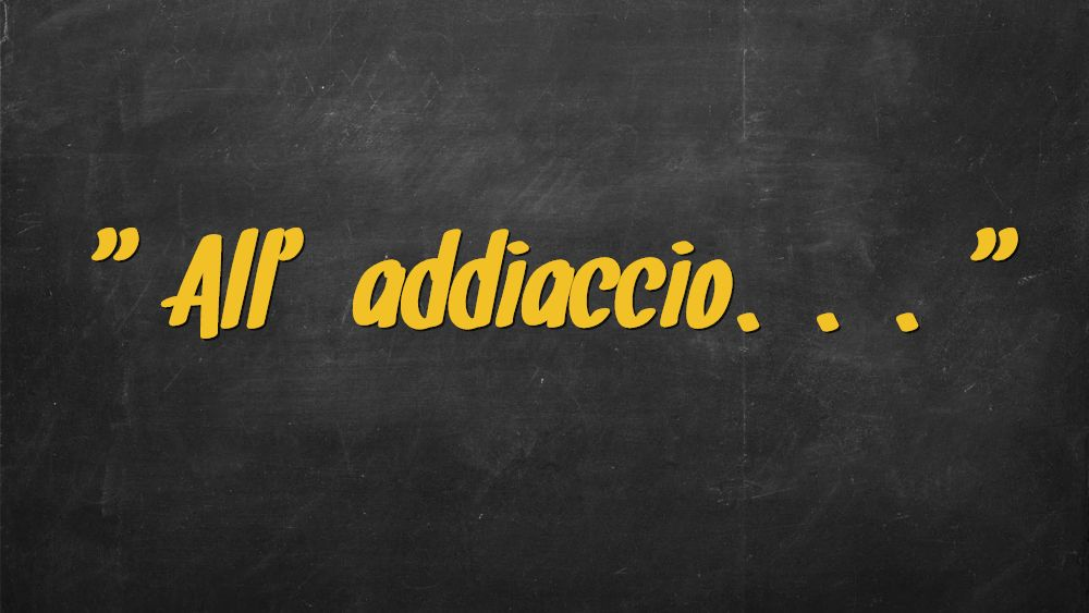 "Come è nata l'espressione ""all'addiaccio""?"